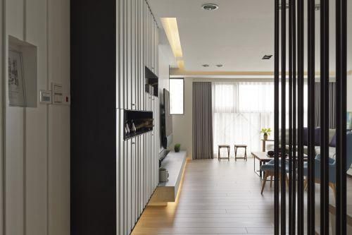 气质现代风格创意玄关装修实景图