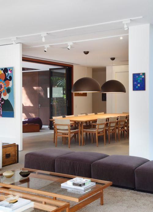 木质清新现代风格餐厅灯具装修图片