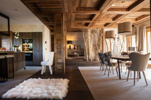 优雅现代风格舒适惬意餐厅装修图片
