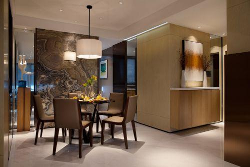 精致大气现代风格餐厅装修设计