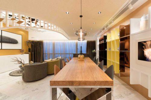 前卫个性现代风格餐厅装修效果图