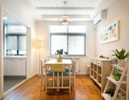 单身公寓餐厅现代简约风格装修效果图