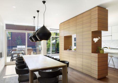 现代简约风格时尚设计感餐厅效果图