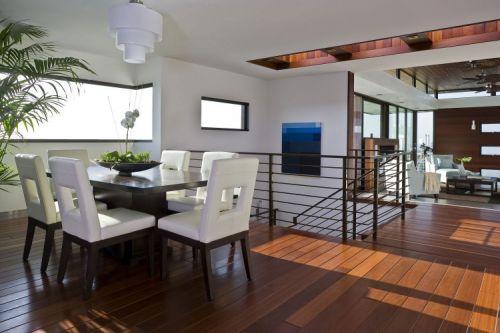 现代简约风餐厅三层别墅装修案例