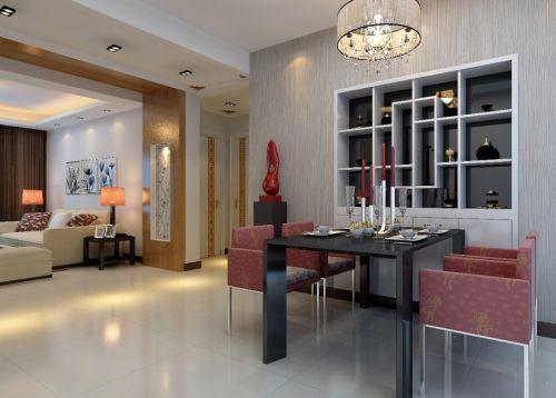 现代简约风格家装餐厅酒柜设计
