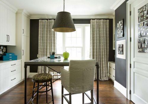 现代风格温馨餐厅照片墙设计图片
