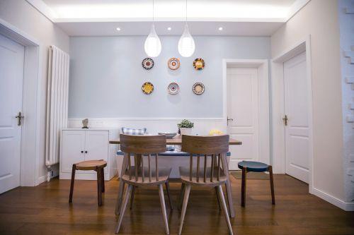 经典现代简约风格餐厅设计效果图