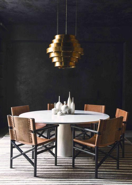 前卫个性现代风格餐厅灯饰图片欣赏