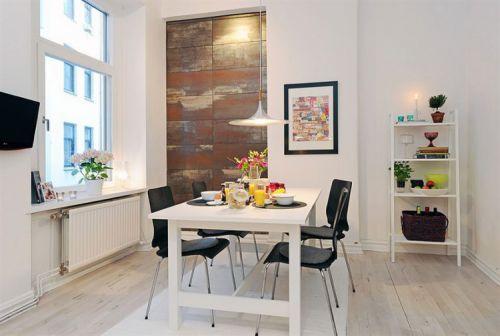 现代简约风格餐厅三居室装修样板间