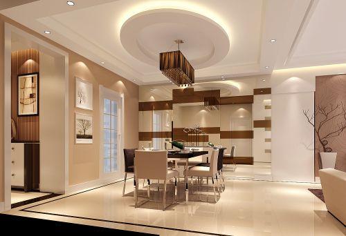 现代简约二居室餐厅走廊装修效果图欣赏