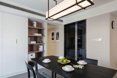 现代风格餐厅多功能壁柜装修效果图