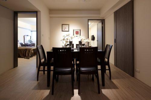 现代风格一居室餐厅效果图欣赏