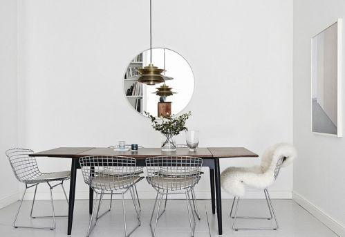 二居室62㎡现代餐厅餐桌装修效果图
