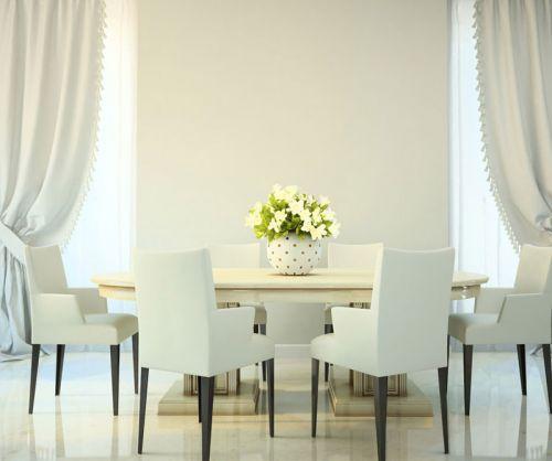 白领最爱现代简约餐厅餐桌装修效果图