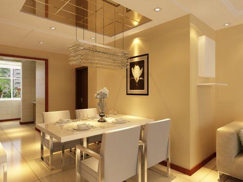 现代简约二居室餐厅装修效果图大全