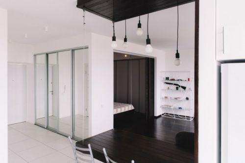 现代简约黑色简易餐厅空间装修设计