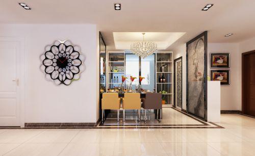 现代简约三居室餐厅装修效果图欣赏