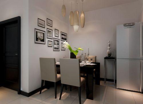 现代简约二居室餐厅床装修图片