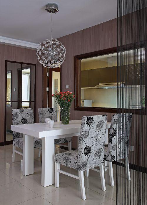 后现代风格三居室餐厅装修图片