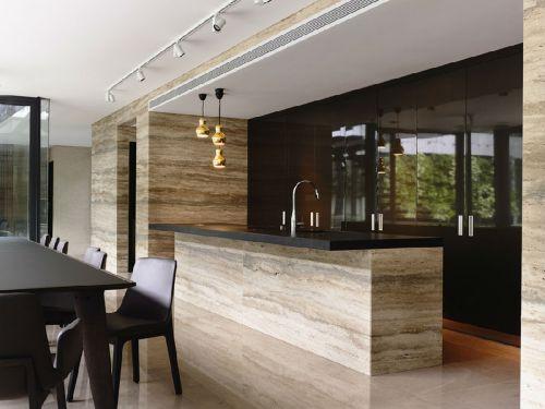 现代简约五居室餐厅吧台装修图片