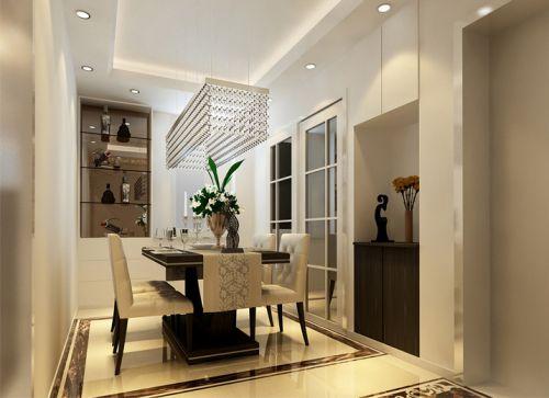 后现代三居室餐厅楼梯装修效果图大全