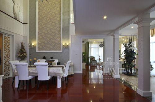 现代简约别墅餐厅装修图片