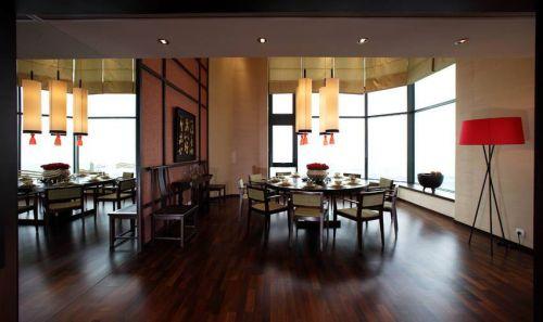 现代中式风格复式餐厅装修效果图