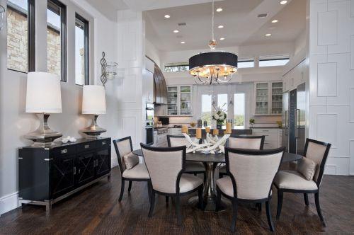 现代简约二居室餐厅橱柜装修效果图欣赏