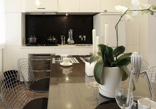 现代简约五居室餐厅装修效果图大全
