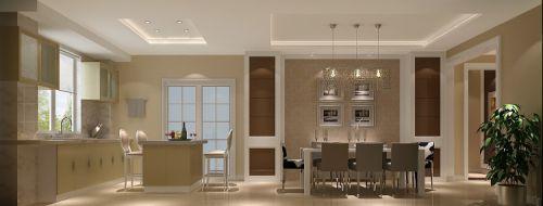 现代简约三居室餐厅床头柜装修效果图欣赏
