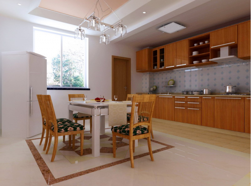 现代简约四居室餐厅装修效果图欣赏