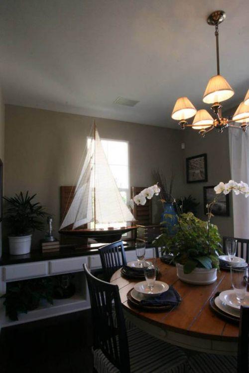 现代简约四居室餐厅榻榻米装修效果图欣赏