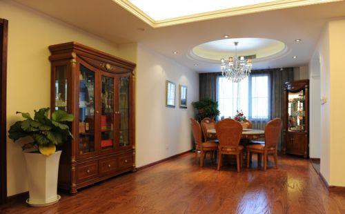 现代简欧六居室餐厅装修效果图欣赏