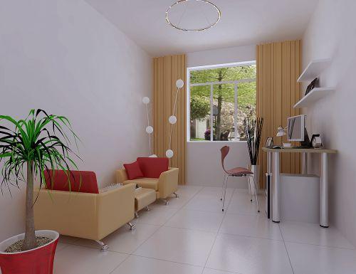 现代简约四居室餐厅飘窗装修效果图