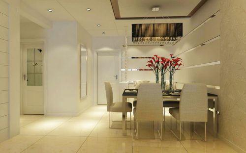 现代简约一居室餐厅装修效果图欣赏