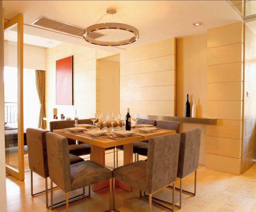 时尚暖意都市现代风格餐厅装修设计