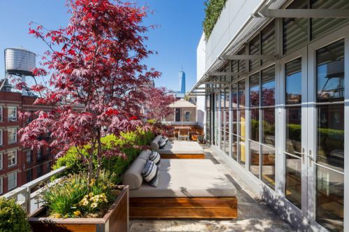 现代风格舒适实用阳台装修设计图