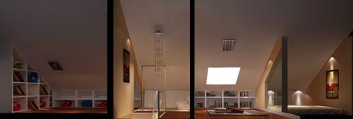 现代简约二居室阳台装修效果图