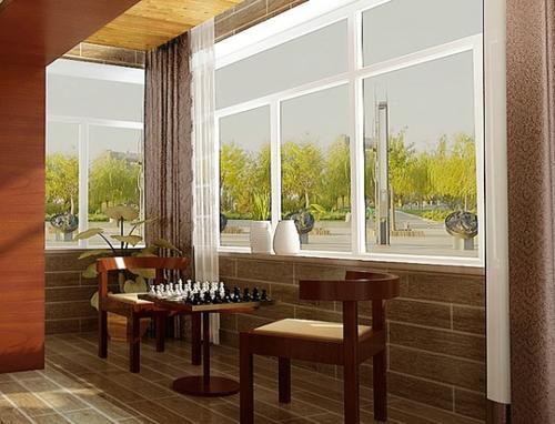 现代简约二居室阳台装修图片欣赏