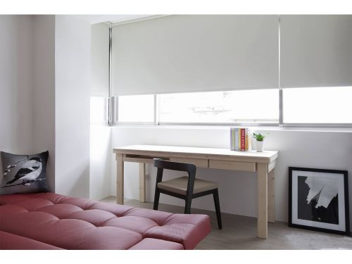 现代简约一居室阳台装修效果图大全