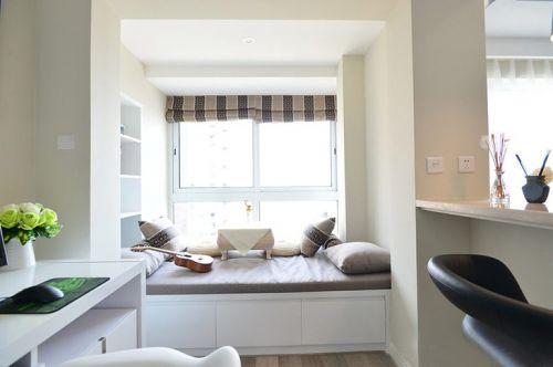 现代简约三居室阳台榻榻米装修图片