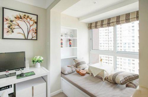 现代简约三居室阳台榻榻米装修效果图欣赏