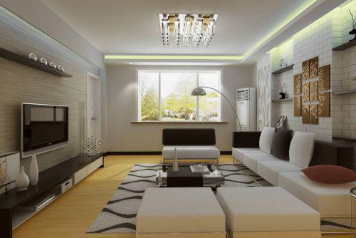 现代简约三居室阳台装修效果图欣赏