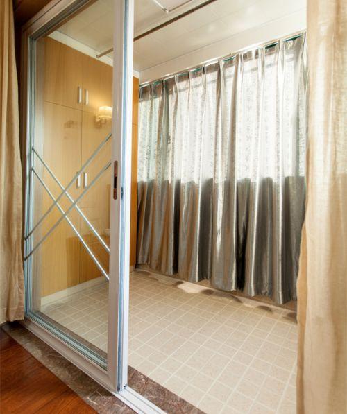 现代简约二居室阳台灯具装修效果图大全