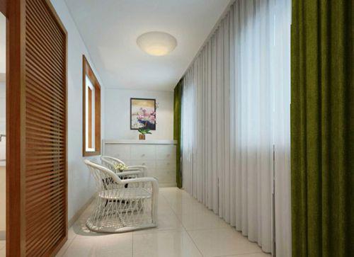 现代简约三居室阳台灯具装修效果图大全