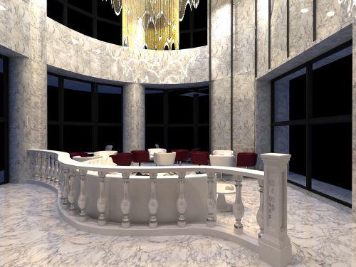 现代简约三居室阳台灯具装修效果图欣赏