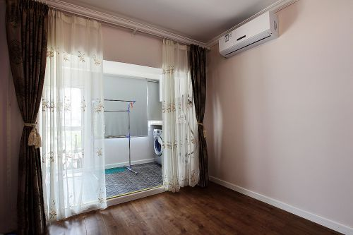 温馨现代风格阳台洗衣机装修效果图