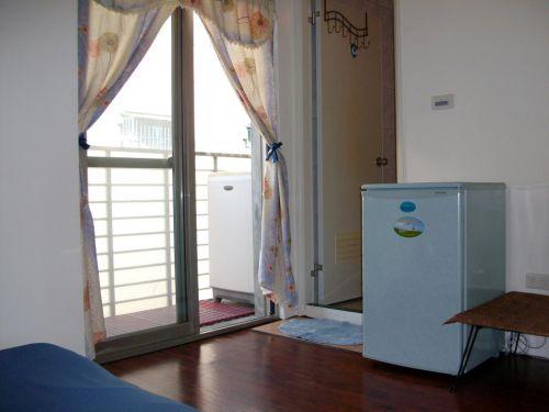 居家现代风格阳台洗衣机装修效果图