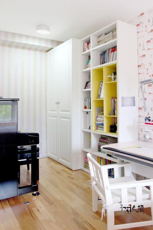 现代简约一居室儿童房衣柜装修效果图大全