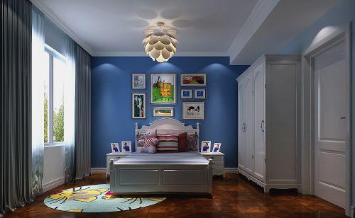 现代简约三居室儿童房飘窗装修效果图欣赏